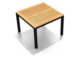 """Arbor 39"""" Square Dining Table HL-AR-CB-4SQDT"""