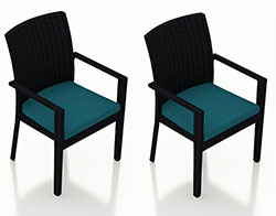 Urbana Dining Arm Chair (set of 2) HL-URBN-CB-DAC