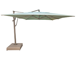 10' x 13' AKZ PLUS Cantilever Rectangular Umbrella AKZPRT