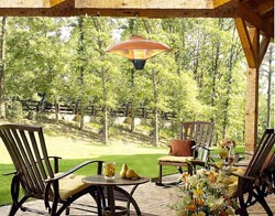 Gibson Wall Hanging Halogen Patio Heater