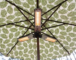 Inferno Umbrella Halogen Patio Heater