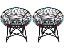 Mandala Lounge Chair - Chaos (Set of 2) HL-MALA-CHAOS-2LC