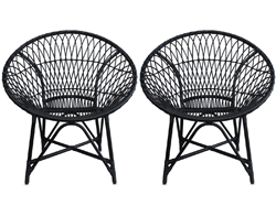 Mandala Lounge Chair - Cosmos (Set of 2) HL-MALA-COSMOS-2LC