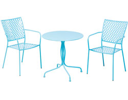 Martini 3 pc. Sky Blue Bistro Set 26-3000
