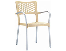 4 Pc. Bella Dining Arm Chair ISP040