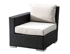 Solana Wicker Left Arm Section 1501-LAF