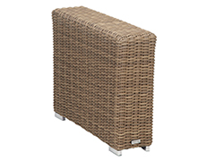 Coronado Wicker Wedge End Table 2101-WDG