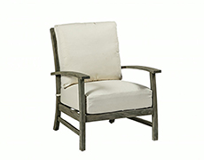 Charleston Teak Lounge Chair 2547