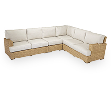 3 Pc Leucadia Sectional Set 2601-SEC