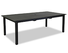 "Monterey 84x42"" Extendable Rectangular Dining Table 3001-T84"