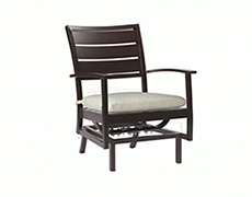 Charleston Euro Spring Lounge Chair 3676
