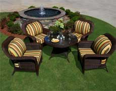 5 Pc. Lexington Outdoor Chat Set