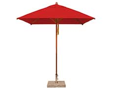 7' Square Levante Umbrella (2.1m SQ-LCT)