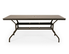 "San Michelle 96x42"" Rectangular Dining Table (710C-96)"
