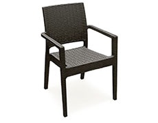 2 Pc. Ibiza Dining Arm Chair ISP810