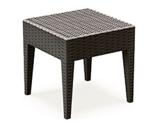 "Miami 18"" Square Side Table ISP858"