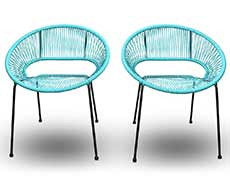 Acapulco Dining Arm Chair (set of 2) HL-ACA-DSC