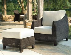 Bay Harbor Lounge Chair with Ottoman