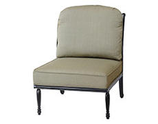 Bel Air Armless Lounge Chair 10990028