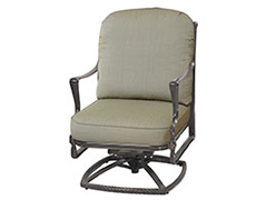 Bel Air High Back Swivel Rocking Lounge Chair 1099HB24