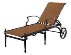 Bel Air Padded Sling Chaise Lounge 61990009