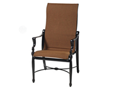 Bel Air Padded Sling High Back Dining Chair 61990001