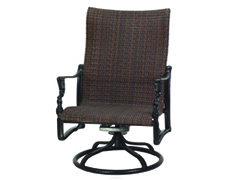 Bel Air Woven High Back Swivel Rocking Lounge Chair 70990024