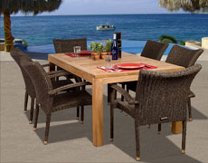 7 Pc. Brussels Dining Set