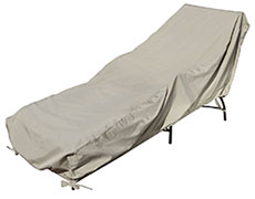 Large Chaise Lounge Protective Cover CP121L