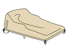 Double Chaise Protective Cover CP141