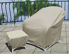 XL Club Chair Protective Cover CP241