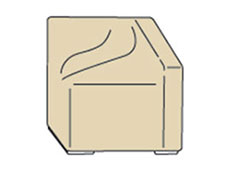 Left Arm Section Furniture Cover CP303
