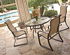 5 Pc. Cayman Isle Dining Set