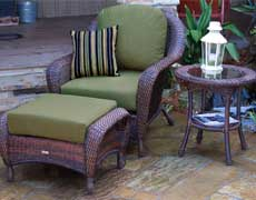 3 Pc. Lexington Outdoor Club Chair Set