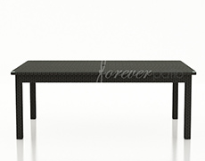 "Barbados 84x42"" Rectangular Dining Table FP-BAR-84DT-EB"