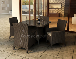 5 Pc. Hampton Square Dining Set FP-HAM-5SQDN