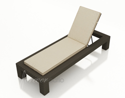 Hampton Single Adjustable Chaise Lounge FP-HAM-ACL