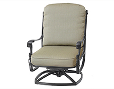 Florence High Back Swivel Rocking Lounge Chair 1023HB24