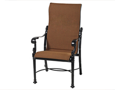 Florence Padded Sling High Back Dining Chair 61230001