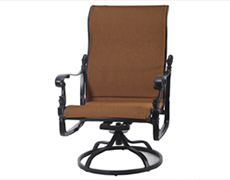 Florence Padded Sling High Back Swivel Rocking Lounge Chair 61230024