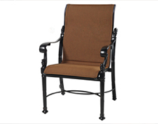 Florence Padded Sling Standard Back Dining Chair 6123SB01