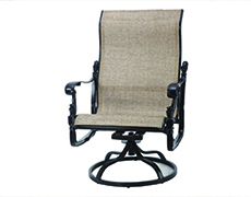 Florence Sling High Back Swivel Rocking Lounge Chair 50230024