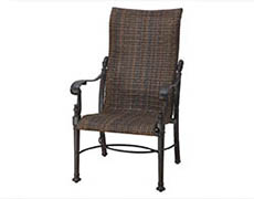 Florence Woven High Back Dining Chair 70230001