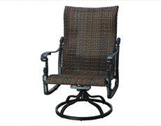 Florence Woven High Back Swivel Rocking Lounge Chair 70230024