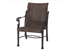 Florence Woven Standard Back Dining Chair 7023SB01