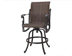 Florence Woven Swivel Bar Stool 70230007
