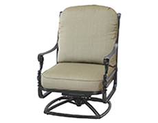 Grand Terrace High Back Swivel Rocking Lounge Chair 1034HB24