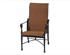 Grand Terrace Padded Sling High Back Dining Chair 61340001