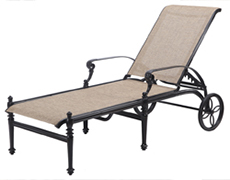 Grand Terrace Sling Chaise Lounge 51340009