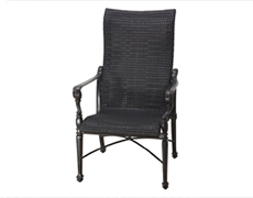 Grand Terrace Woven High Back Dining Chair 70340001